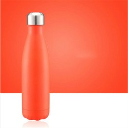 Uniforme No. 004 - Bouteille isotherme orange
